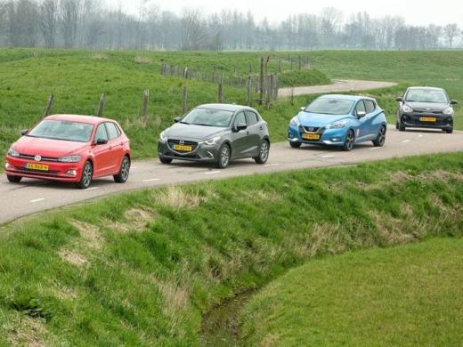 Europese automarkt koelt af in eerste helft 2019